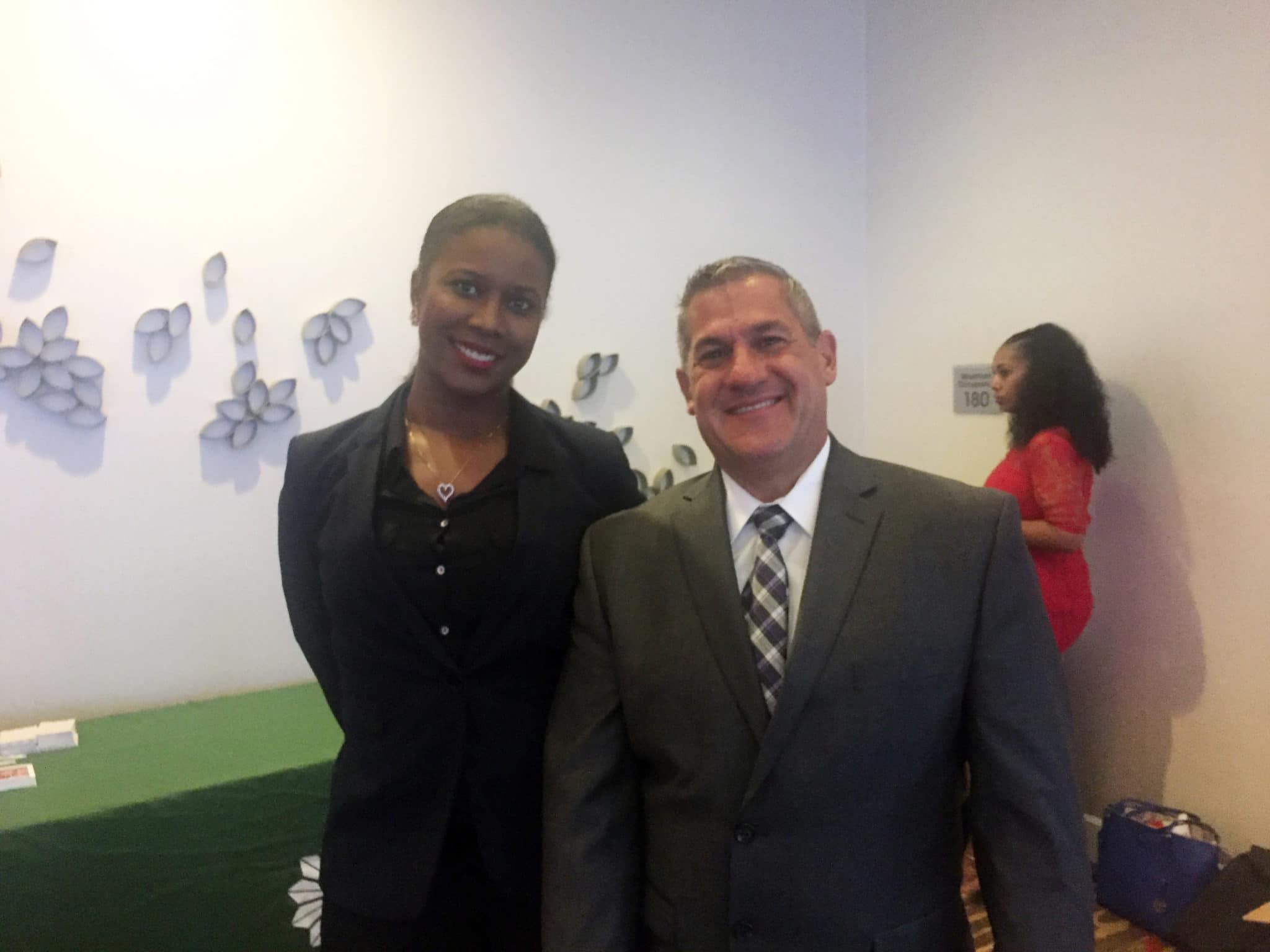 Tanisha Thorpe, the Children's Director Maryland with Brian Dion, Regional Vice President, Arizona, Maryland, New Mexico, Pennsylvania, and Utah.