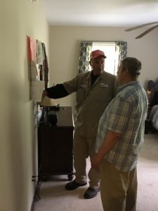 Assemblyman Parker Space visits home for individuals with developmental disabilities