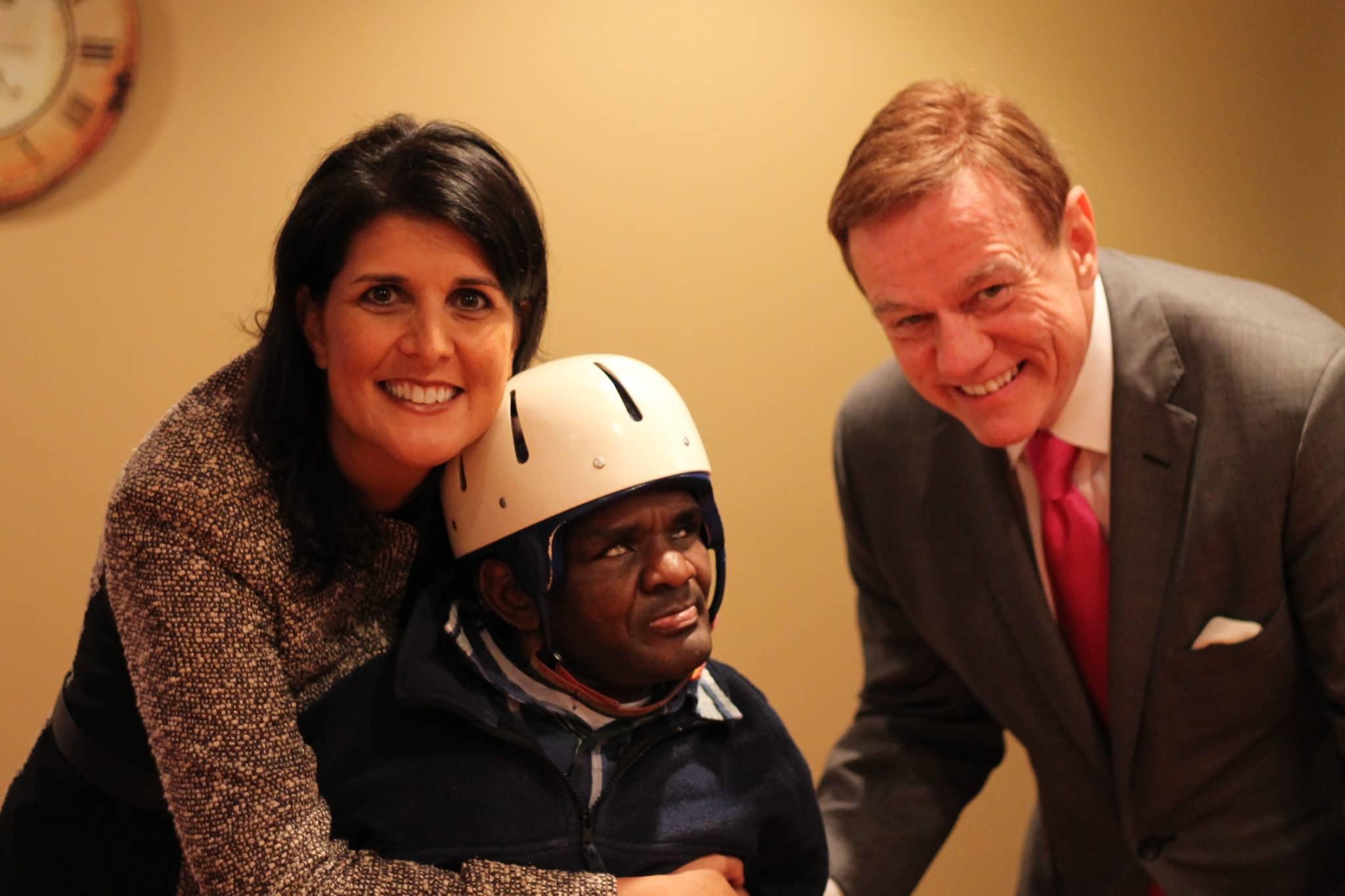 November 5 2013 Gov Haley visited a Community OptionsInc home
