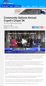 Cindy Barnaby joins Bridge Street to chat about the upcoming Cupid's Chase 5K.
