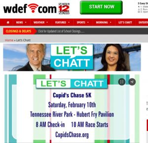 Daniel Bailey joined Let's Chatt to discuss the upcoming Chattanooga Cupid's Chase 5K.
