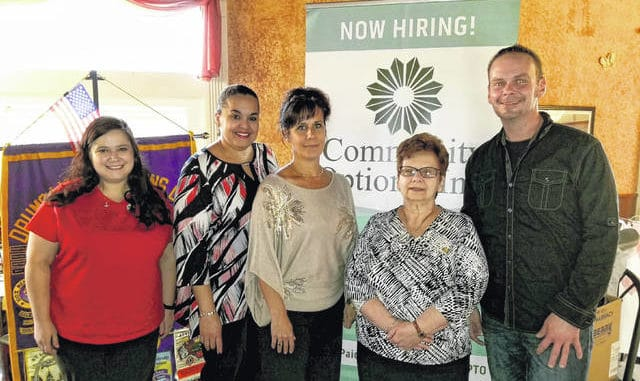 Drums Lioness Lions Club collects shoes for non-profit