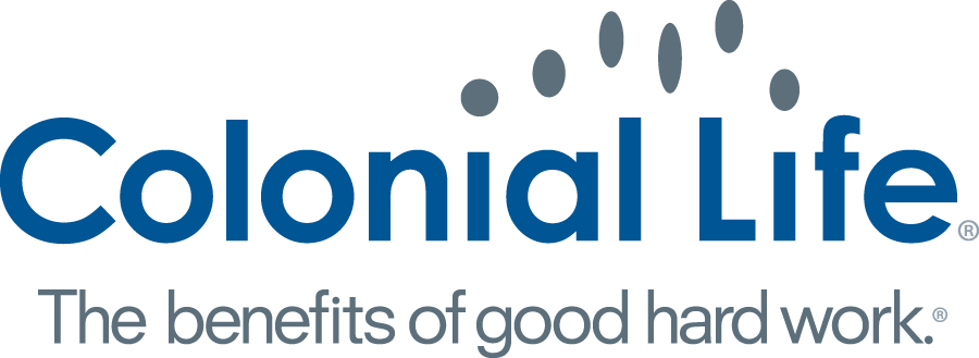 Colonial Life logo: The benefits of good, hard work