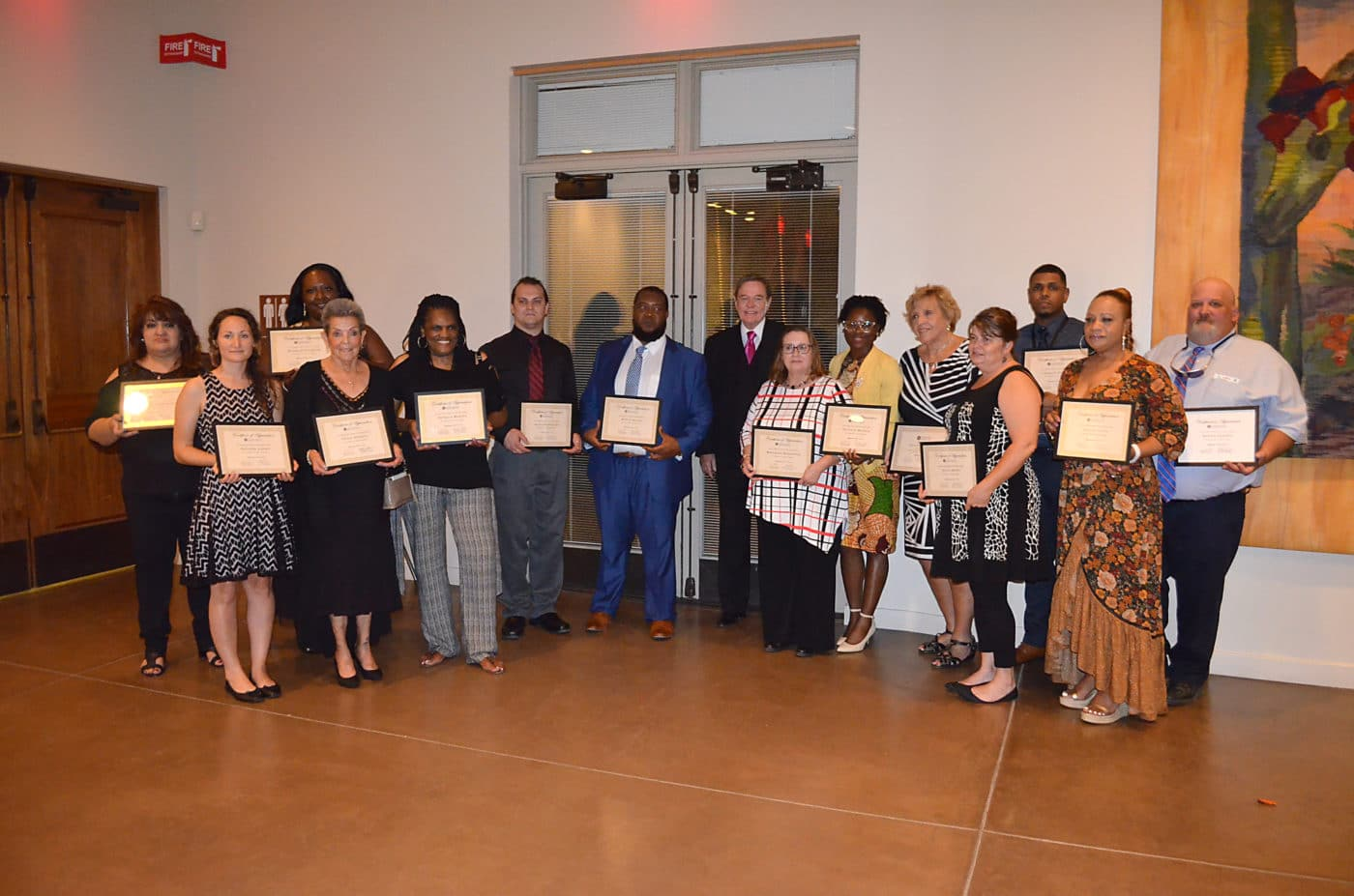 Community Options, Inc. seeks to recognize employees who exemplify excellence. Award winners are honored at the 2018 annual iMatter Conference.