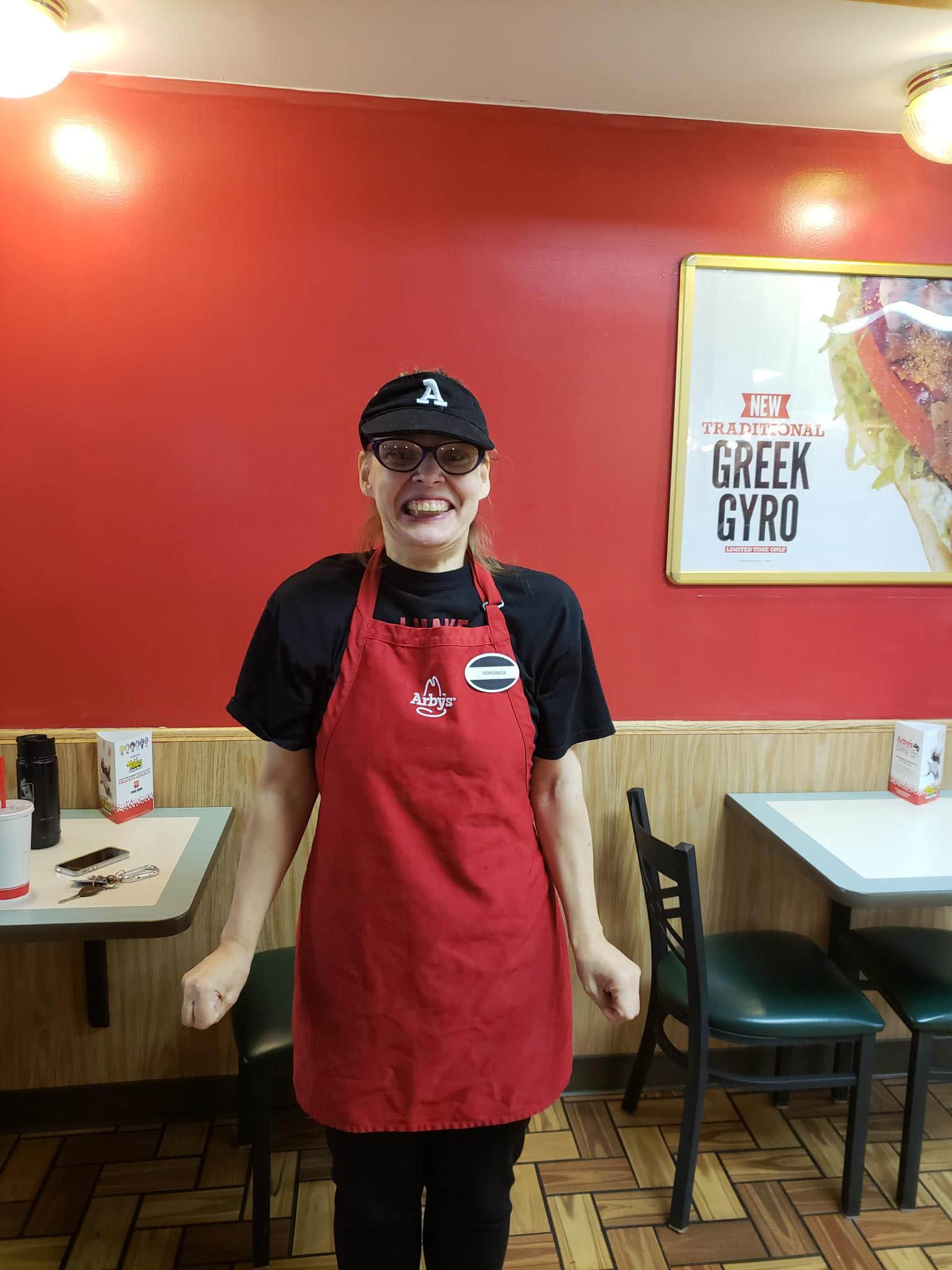 Veronica is a Cashier at Arby's restaurant Binghamton, NY