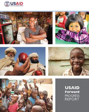 Usaid foward progress report Cover