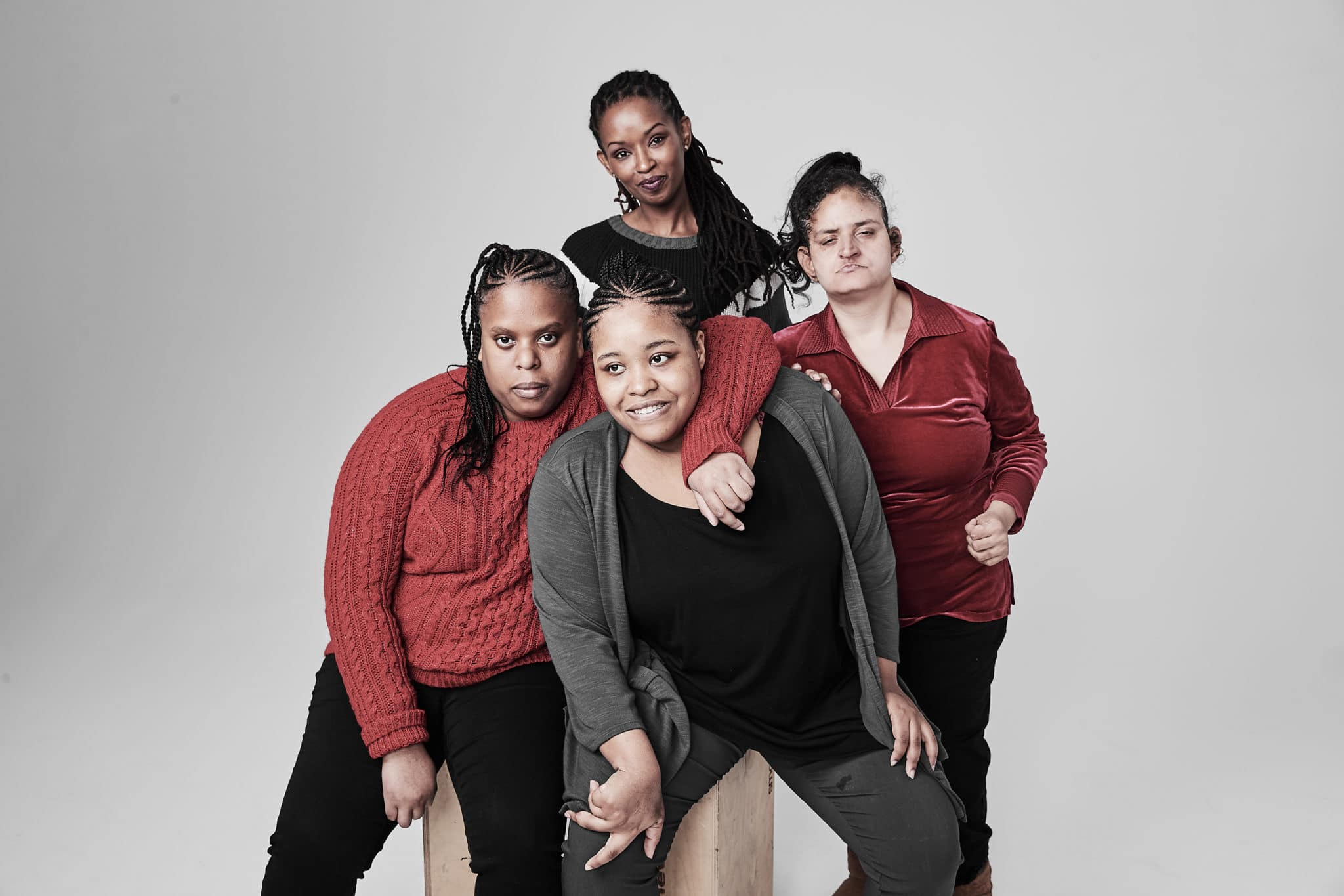 Community Options group photo of 4 individuals