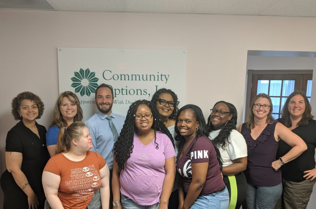 Community Options, Inc. of South Central, PA.