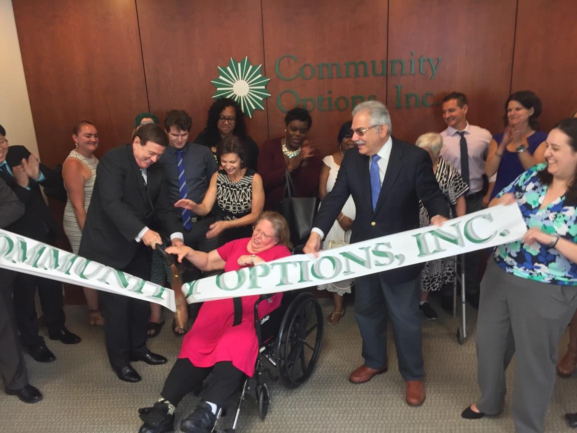 On Tuesday, June 27, 2017 at 12 p.m., Community Options will held a ribbon cutting ceremony for its newest office in King of Prussia.