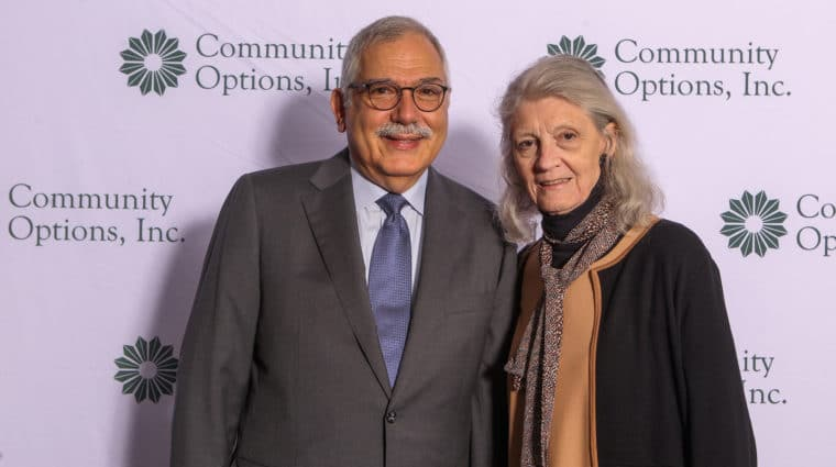 On May 9, 2019, Community Options celebrated its 30th anniversary on the campus of Princeton University at the McCarter Theatre Center Gala Tent. Community Options Enterprises' Chairman, Philip Lian and his wife, Joan Mueller