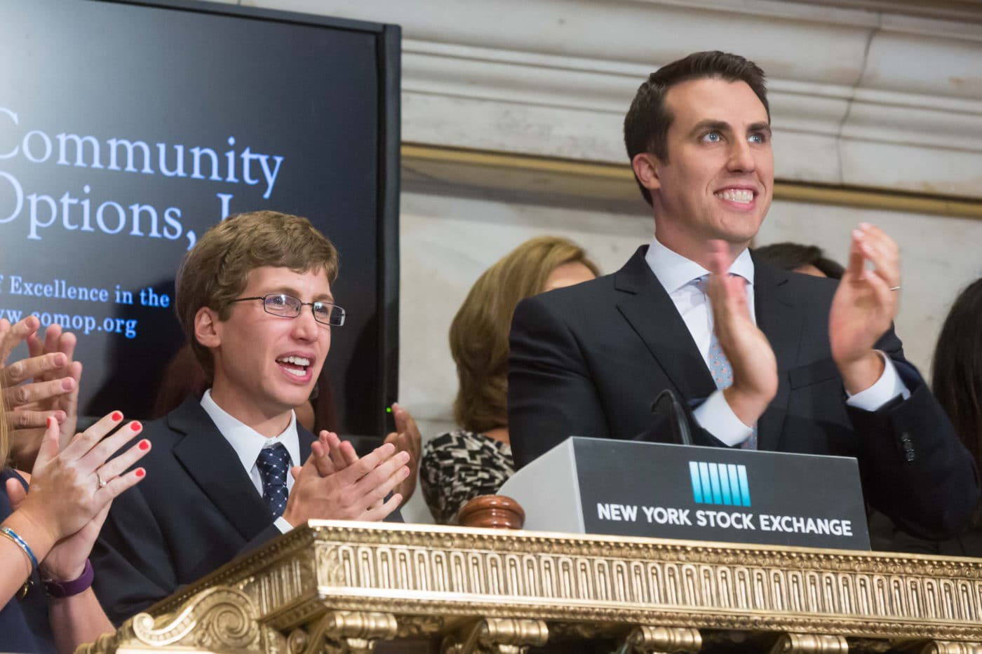 On August 15, 2016, Community Options, rang the Closing Bell at the New York Stock Exchange.