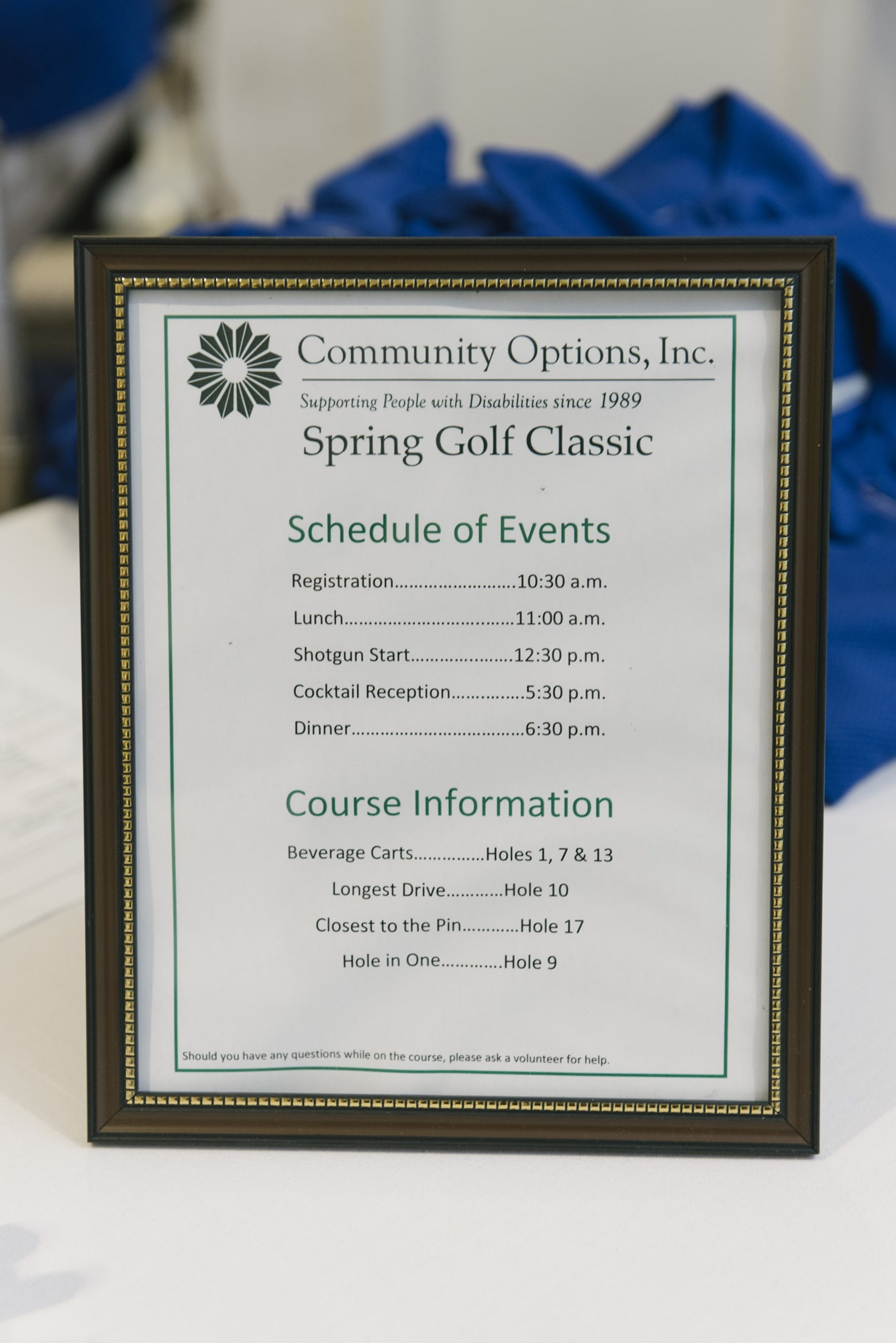 vMay 22, 2017 Community Options, Inc. Spring Golf Classic at Torresdale