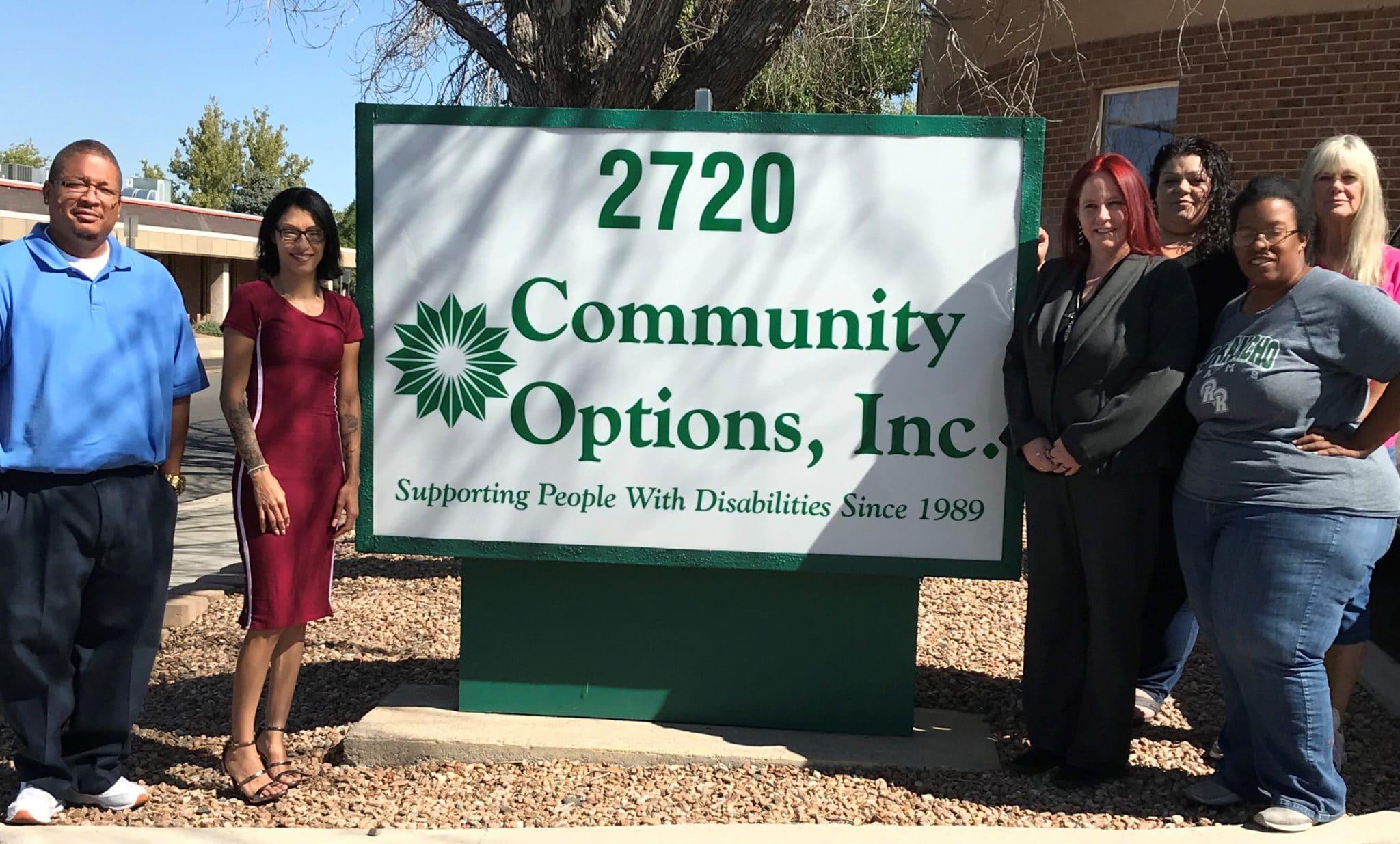Community Options, Inc. of Albuquerque, NM.