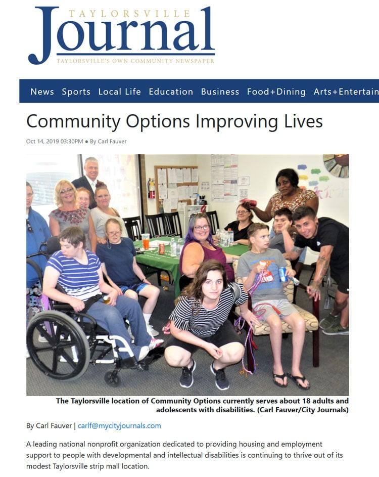 Taylorsville Journal