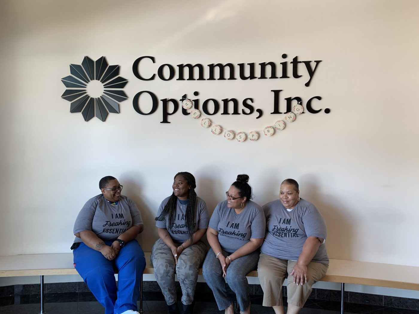 Essential personnel at Community Options, Inc. continue to provide daily service to their clients. - PHOTOS BY JAN OSBORN