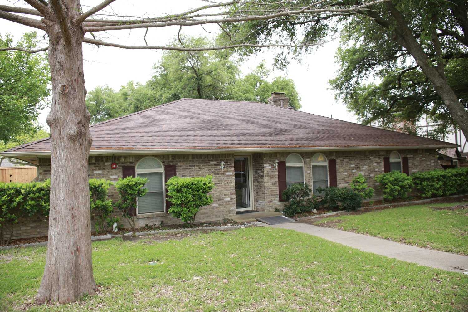 One of the residential houses in Dallas where adults with special needs are able to live independently. - PHOTOS BY JAN OSBORN