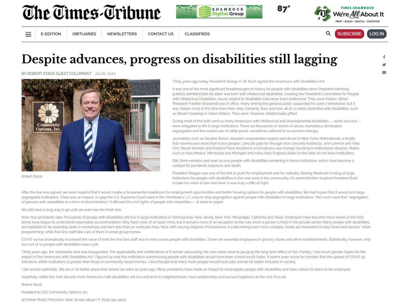 The Times Tribune