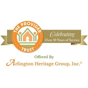 Arlington Heritage Group, Inc. | Devoted to empowering the lives of disabled persons - logo