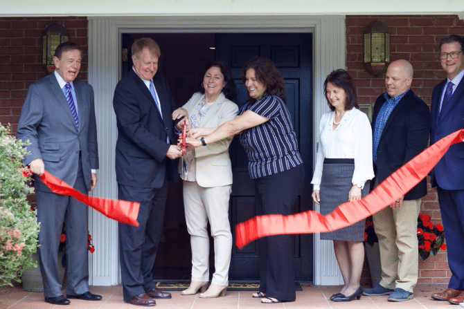 Penn Hills Pennsylvania community-based home for children Ribbon Cutting