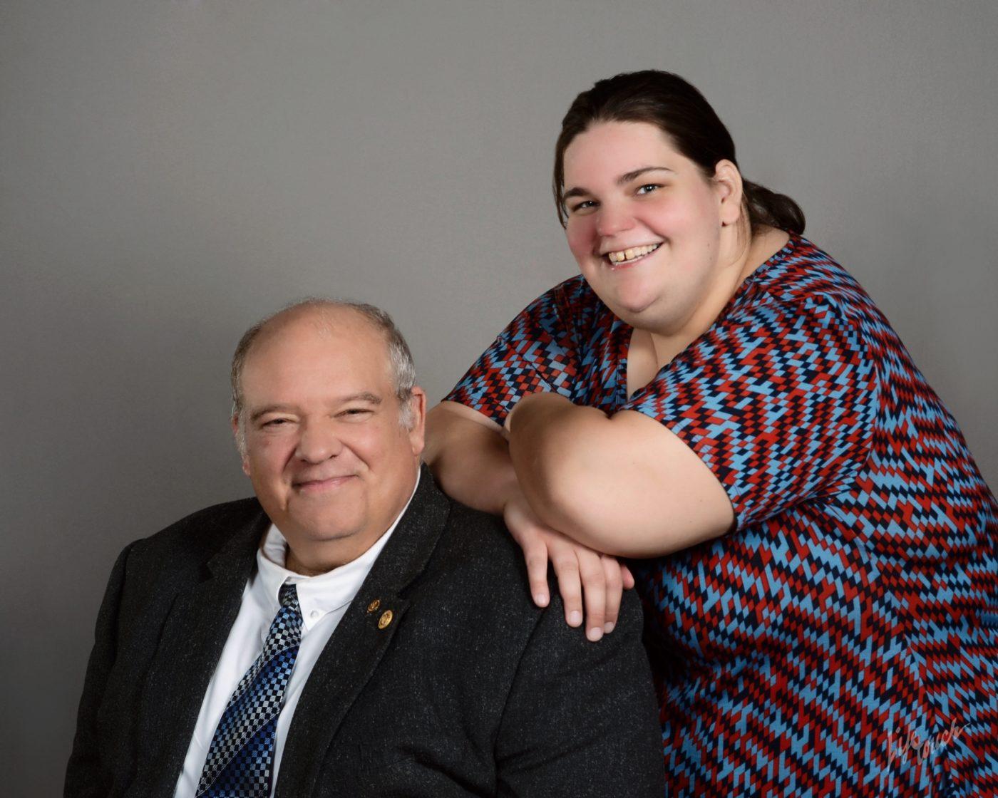 John Pavlovsky and his daughter Patricia