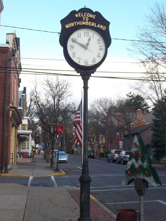 Northumberland County, PA Welcome clock