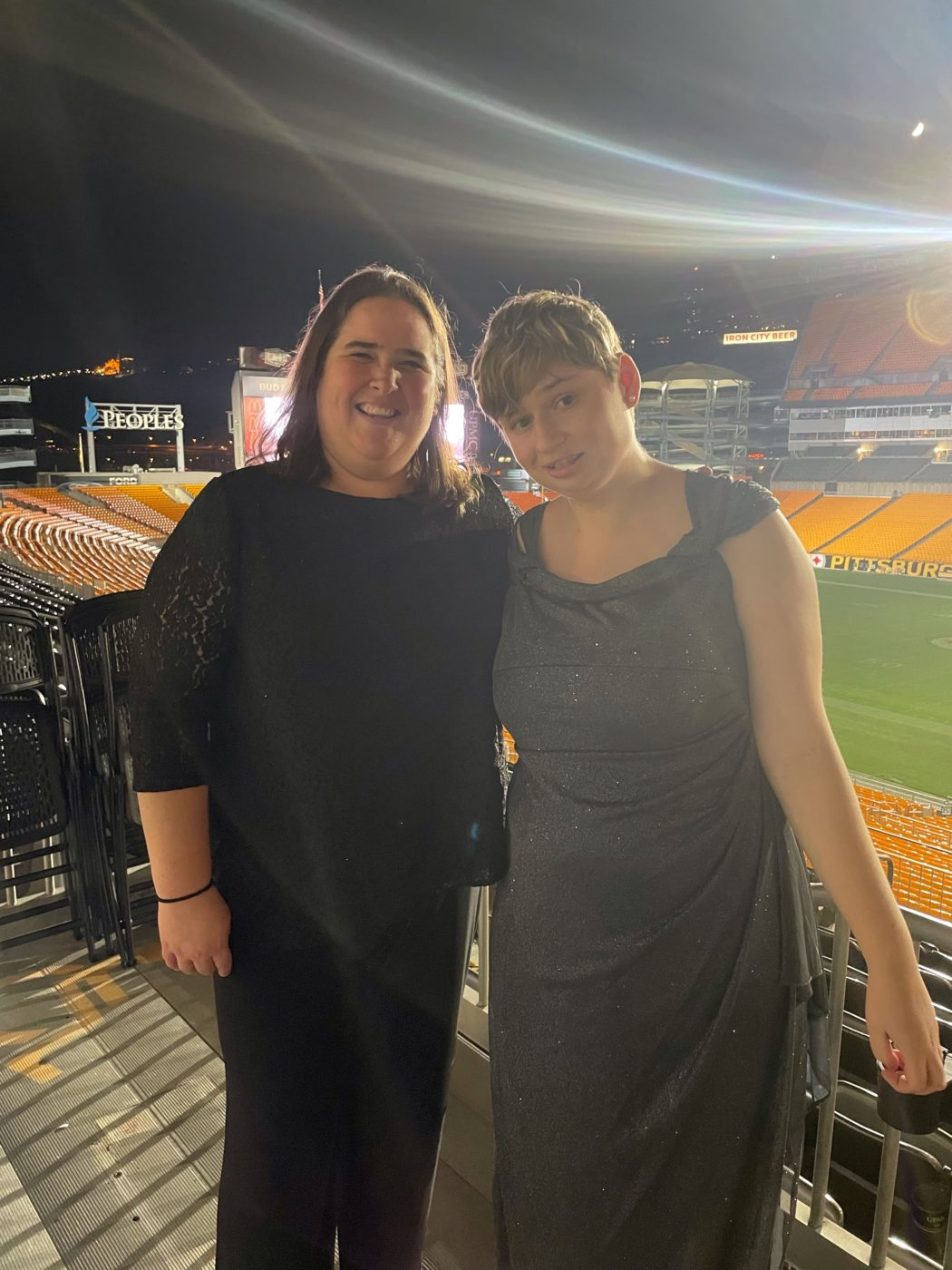 Lindsey Daniel & Katelyn Mitchell together on October 12th, 2021, Community Options hosted its Gala celebrating Celebrating Extraordinary Measures. The Gala took place at Heinz Field, 100 Art Rooney Ave., Pittsburgh, PA 15212.
