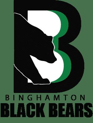 Binghamton Black Bears Hockey Team Logo