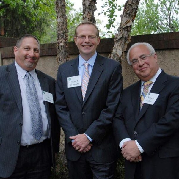 Rich Cohen (Partner) and Eric Strauss (Partner) from WithumSmith+Brown's Philadelphia office recently attended a Community Options, Inc Ribbon Cutting ceremony. The event was held in Princeton, NJ and was in honor of Elaine Katz. Rich and Eric are joined in the photo by a board member, Richard De Angeles, Jr. , Counselor at Law of the firm McKirdy & Riskin. P.A. from Morristown.